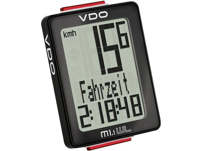 VDO M1.1 WL - Compteur sans fil - noir